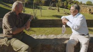 Bertín Osborne y Miguel Ángel Revilla en 'Mi casa es la tuya'.