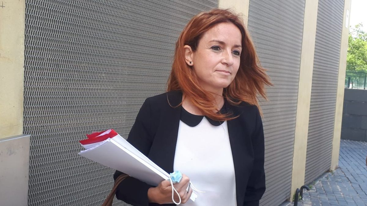 Noelia Romero declara a la ciutat de la Justicia.