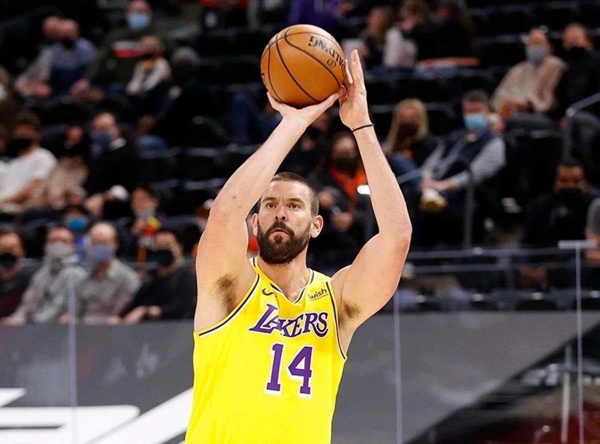 Marc Gasol, en su último partido de la NBA.