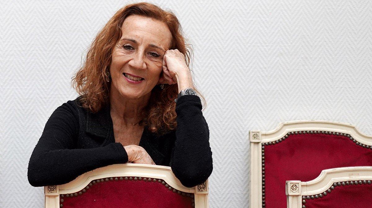 Carme Portaceli, el pasado diciembre en Madrid.