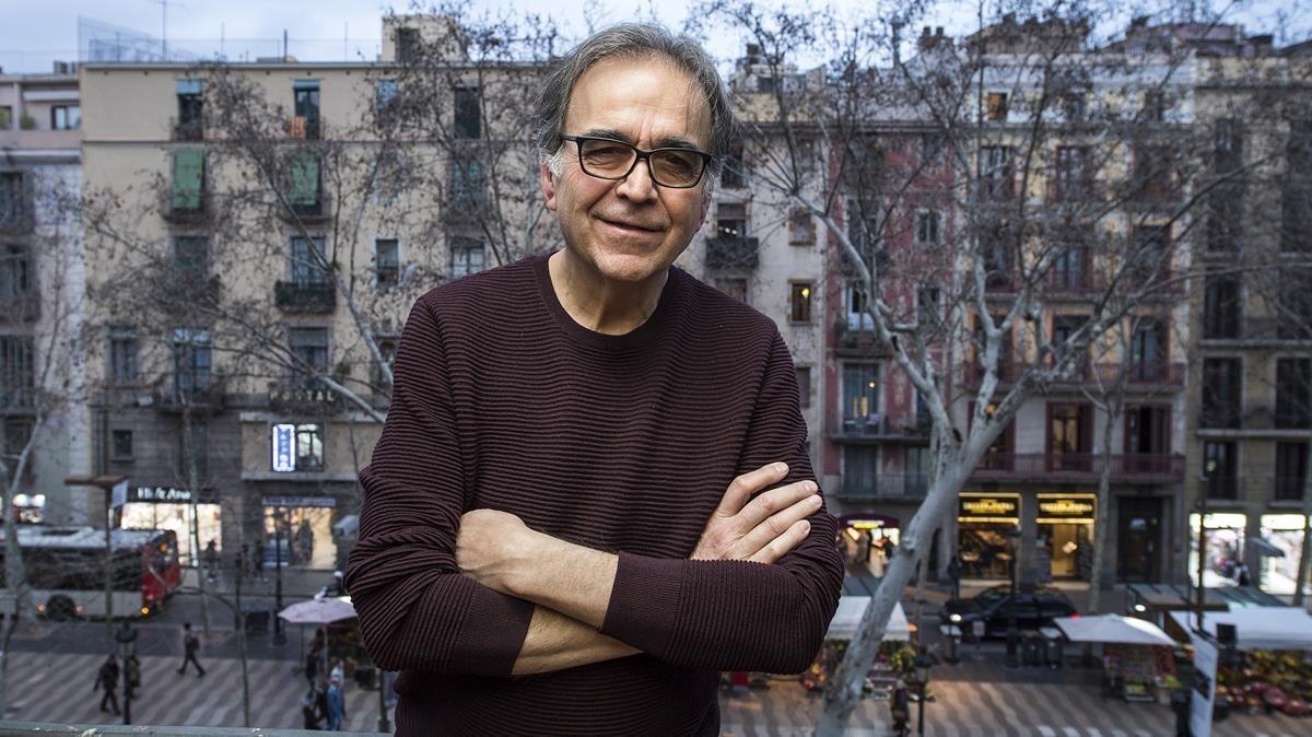 El comisionado de Cultura del Ayuntamiento de Barcelona, Joan Subirats, en la Virreina.