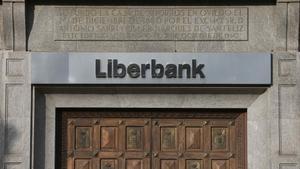 Oficina central de Liberbank en Oviedo.