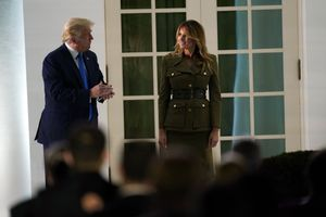 Melania Trump ha defendido cuatro años más para su esposo al frente de la Casa Blanca.