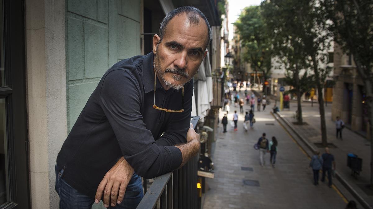 Fernando Vicente, este lunes en Barcelona.