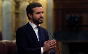 Casado assegura que Sánchez deixa que els presos de l'1-O «dictin» l'acció de Govern
