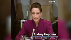 Discurso de Audrey Hepburn en favor de los derechos de los niños.