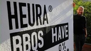 Marc Coloma, co-fundador de Heura Foods,en las oficinas de la compañía