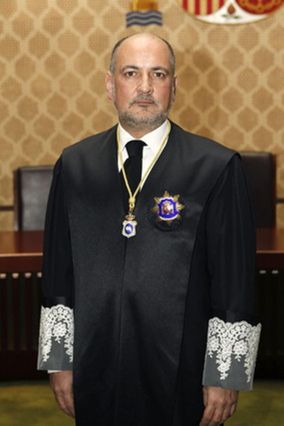 El juez Francisco Pérez de los Cobos, en enero del 2011.