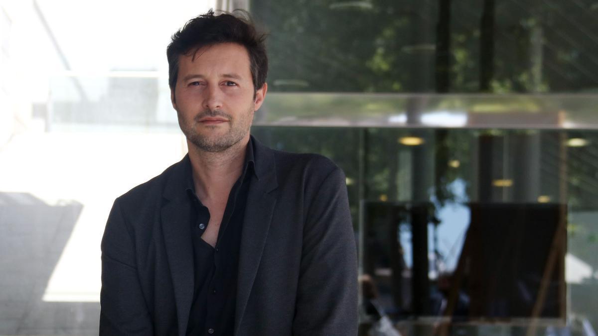 El nuevo director del Arts Santa Mònica, Enric Puig, este martes.