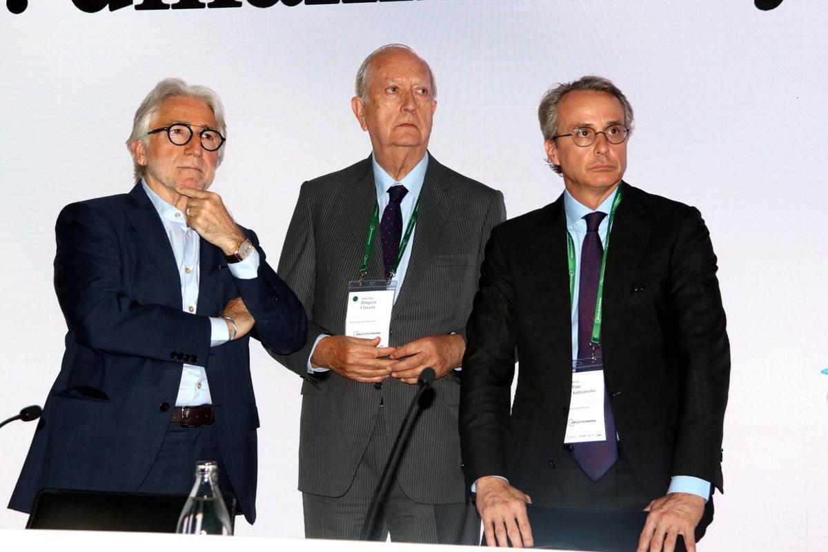 Sánchez Llibre, Joan Josep Brugera y Javier Faus.
