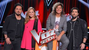 Los coaches de 'La voz senior'.