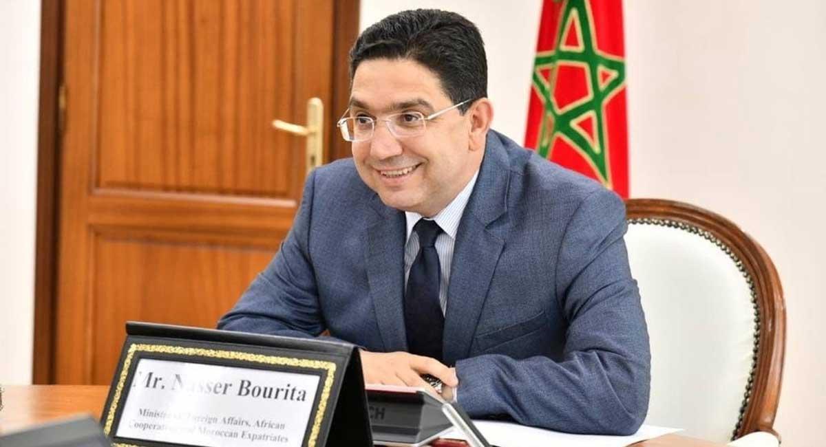 Nasser Bourita, ministro de Asuntos Exteriores de Marruecos.