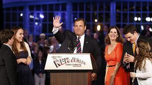 El republicano Chris Christie, reelegido gobernador de Nueva Jersey
