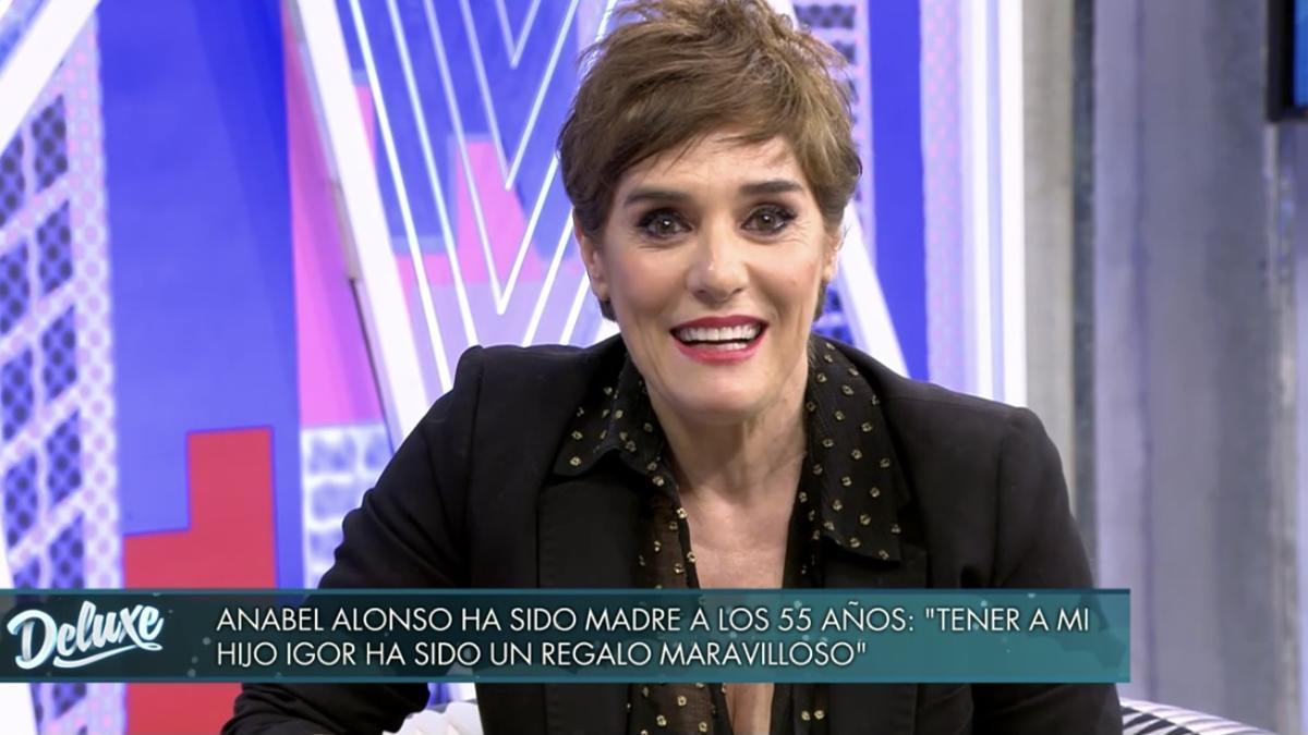 Anabel Alonso en 'Sábado Deluxe'