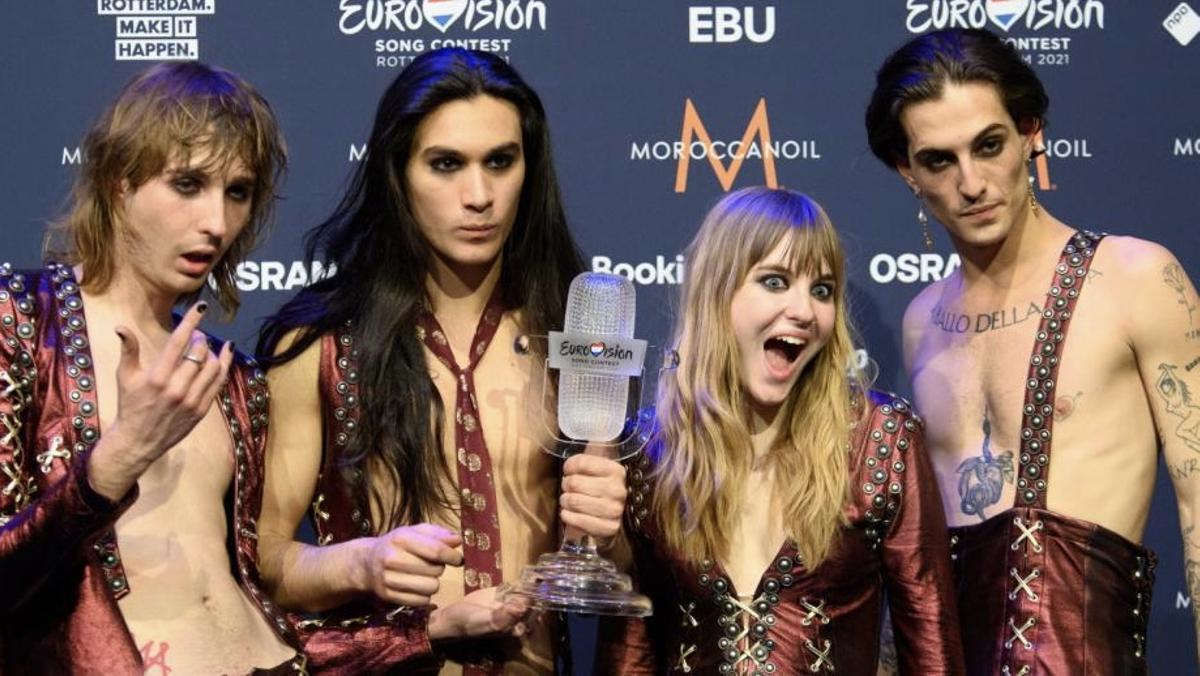 Maneskin, la banda italiana ganadora de Eurovisión 2021
