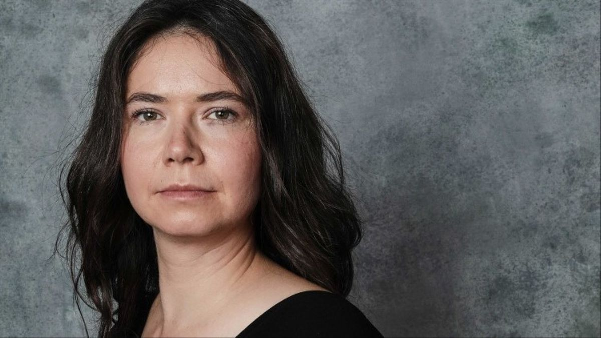 La directora rumana Alina Grigore, en San Sebastián
