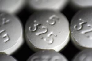 Pastillas opioides distribuídas en EEUU.