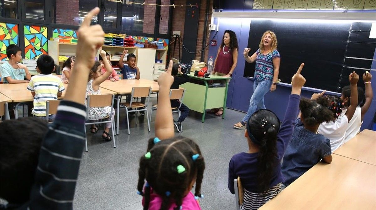 Escola Wagner, en Santa Coloma de Gramanet.