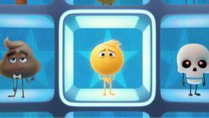 Una imagen promocional de 'Emoji: la película'.