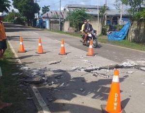 El terremoto de 6,7 del martes provocó graves daños en Masbate.