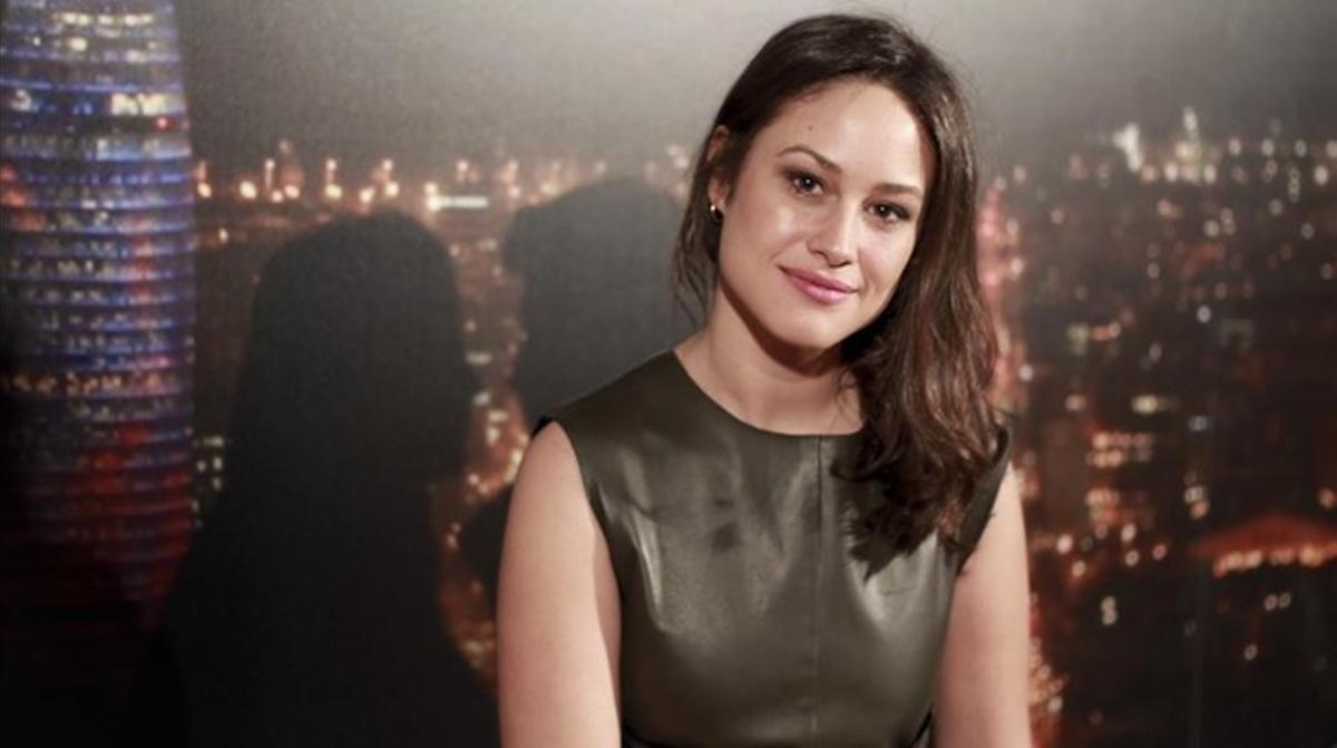Aida Folch, una de las actrices de la serie 'Cites' (TV-3).