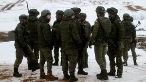 Soldados españoles en una misión internacional.