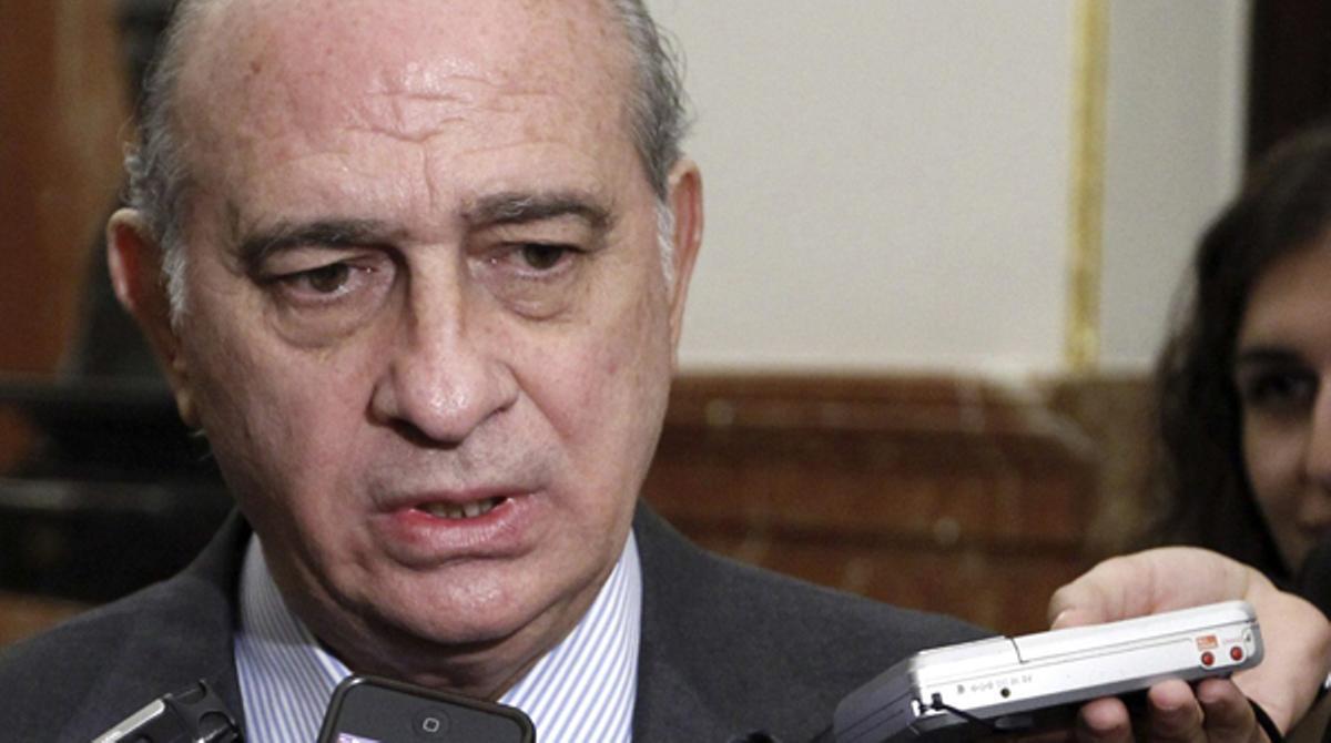 El ministro de Interior aseguró que no cambiará de opinión por una sentencia.