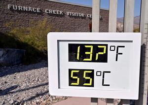 La lectura preliminar, que fue de 54 grados celsius, está ahora en proceso de verificación oficial.