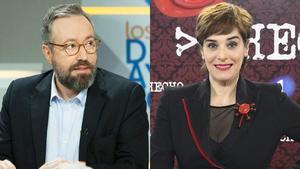 Juan Carlos Girauta y Anabel Alonso.