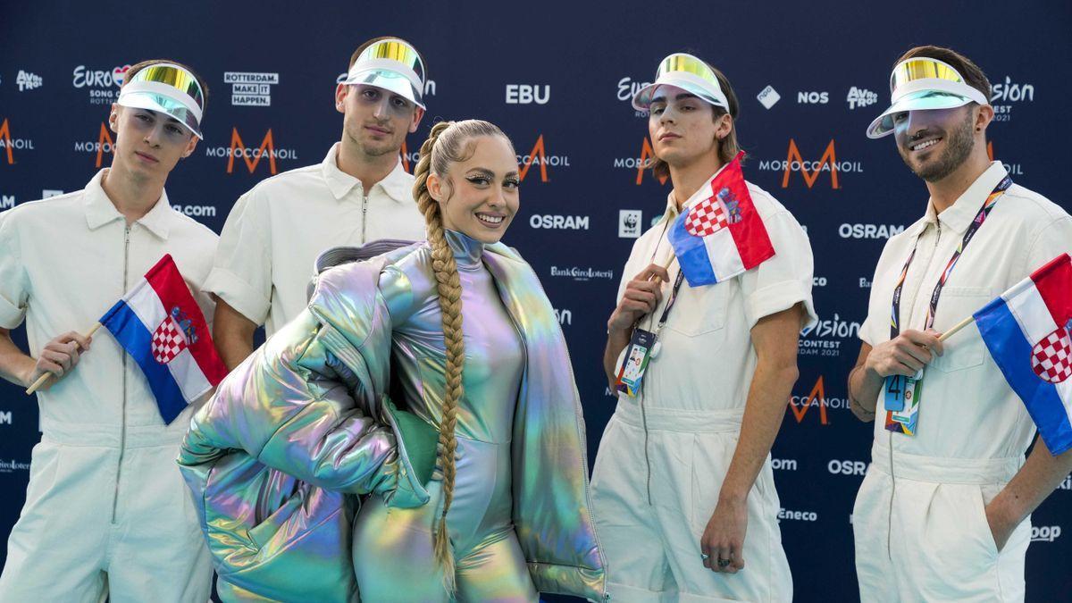 Representantes de Croacia en Eurovisión.