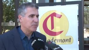 Declaraciones del director general de Casademont, Francesc Xavier Gómez, y del presidente del comité de empresa, José Giménez.