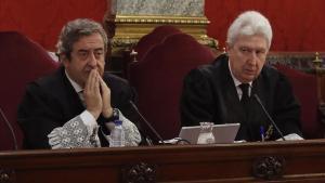 Los fiscales Fidel Cadena y Javier Zaragoza.