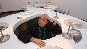 Antoni Miralda, en la sede de FoodCultura, en el 2012.