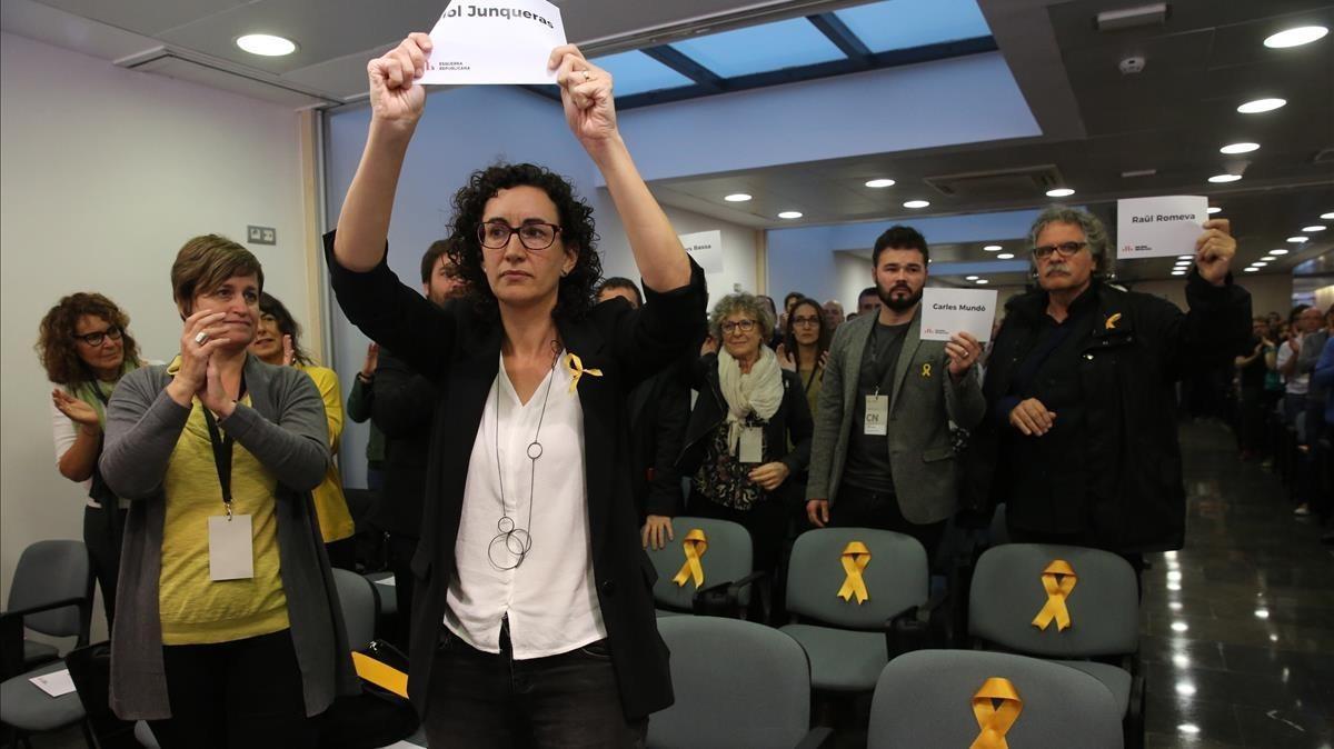 ERC rechaza una candidatura conjunta solo con el PDECat
