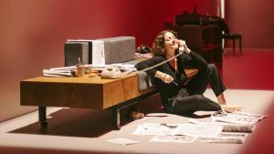 Nora Navas protagoniza la primera obra, 'El quadern daurat'.