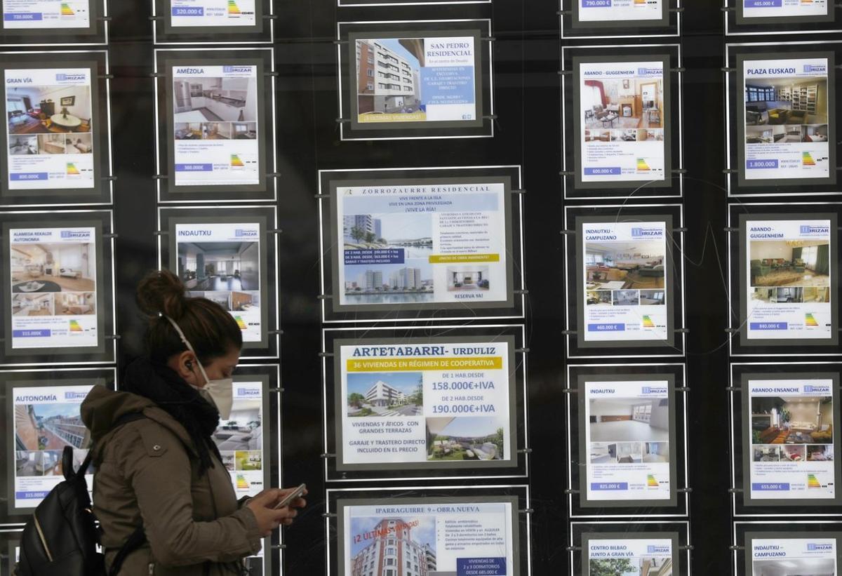 Imagen de una inmobiliaria en el País Vasco