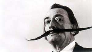 El pintor Salvador Dalí.