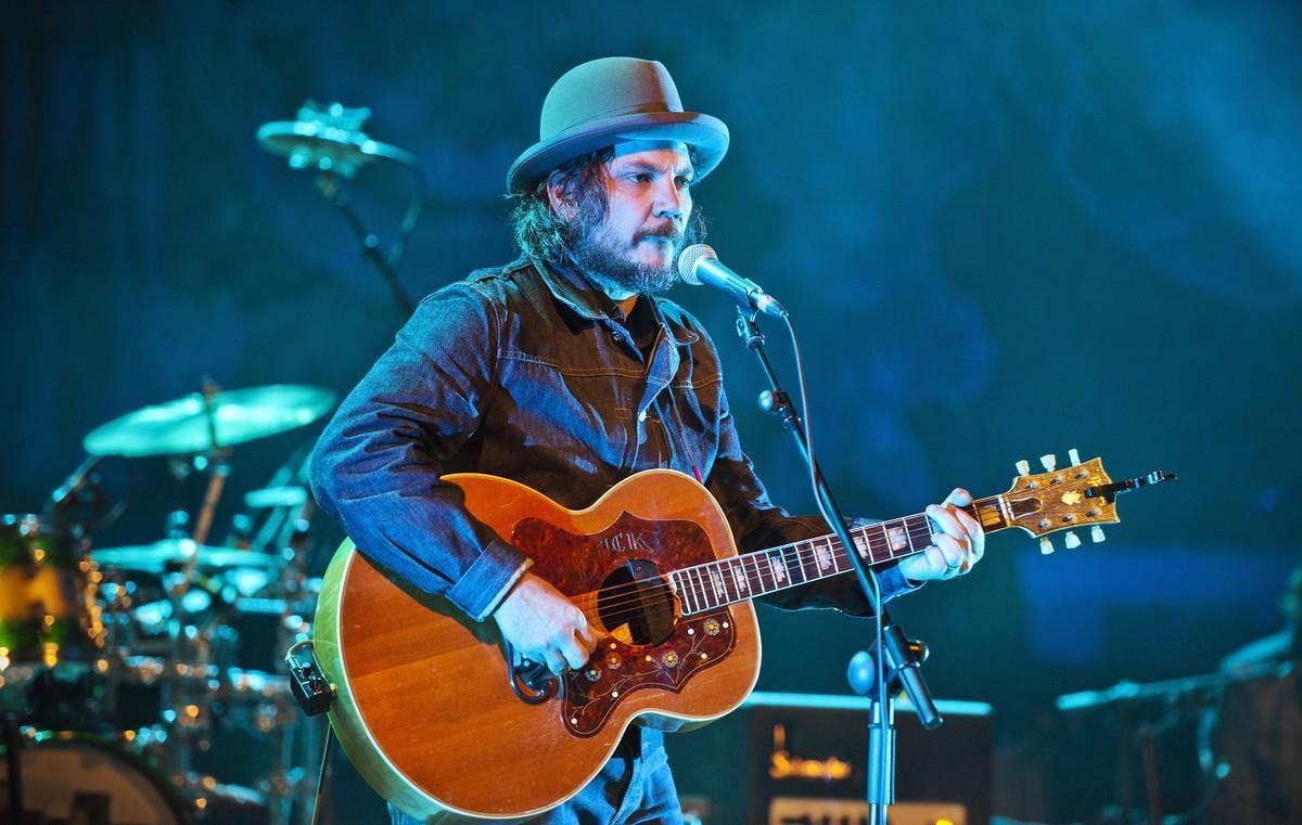 Jeff Tweedy, en un concierto de Wilco en Barcelona.