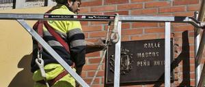 El retorno efímero de 17 calles franquistas en Oviedo