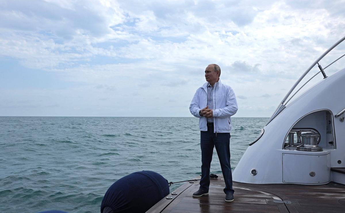 El presidente de Rusia, Vladimir Putin, el pasado pasado en Sochi, en el Mar Negro.