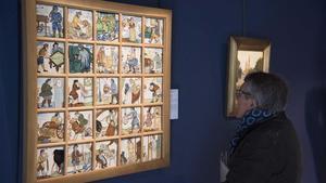 Exposición sobre Ramon Casas en la galería Gothsland de Barcelona.