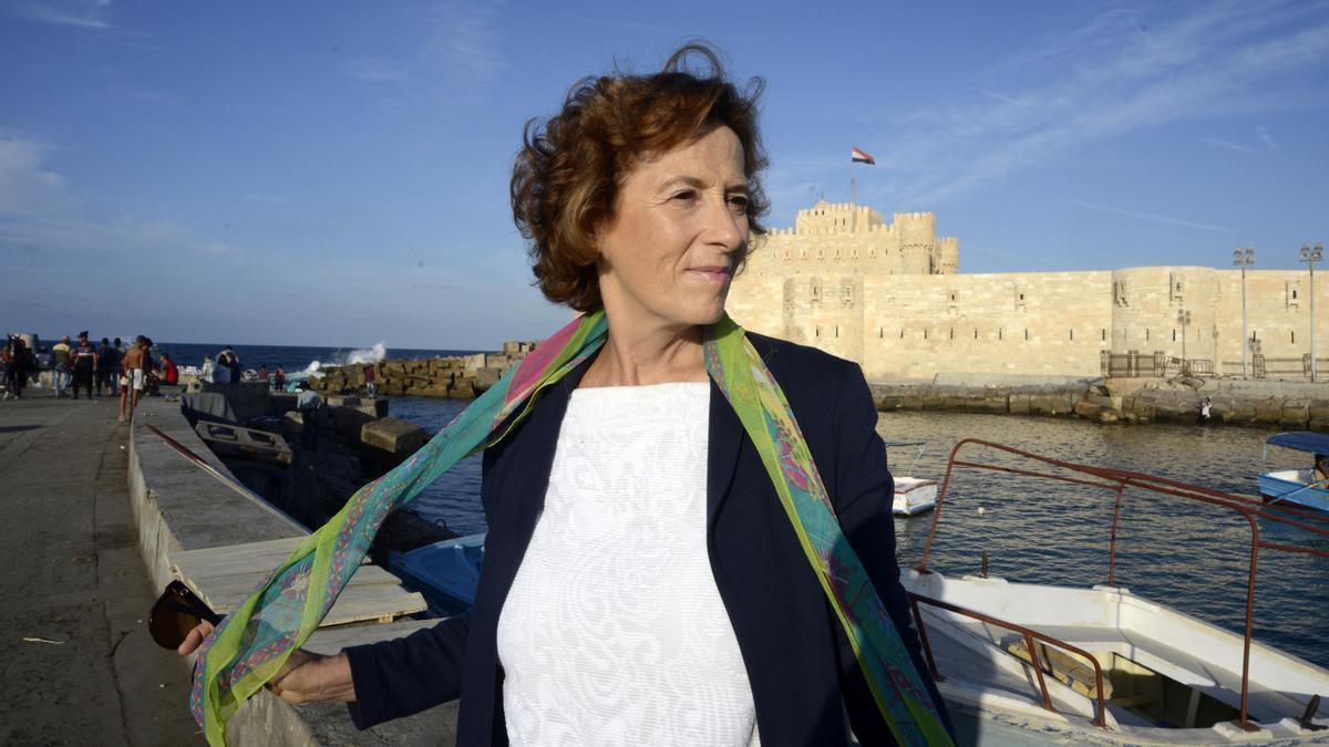 La escritora superventas Julia Navarro.