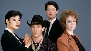 Parte del elenco protagonista de la serie original 'Twin Peaks'.