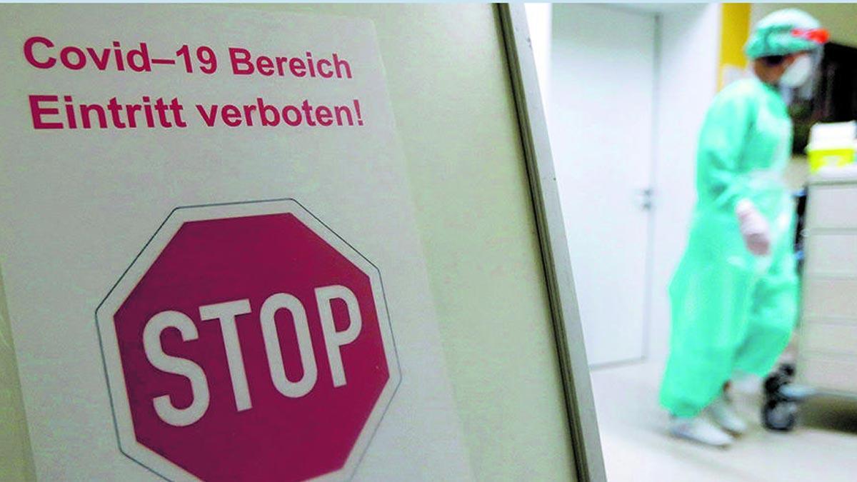 Alemanya registra un nou rècord amb 1.244 morts per Covid en 24 hores