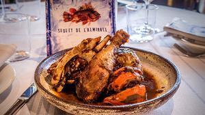 El pollo con langosta de Manel Marquès.