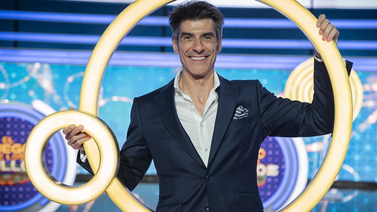 Jorge Fernández, presentador de 'El juego de los anillos'.