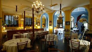 La sala principal del Senyor Parellada, tal vez el ágora de las más trascendentales sobremesas de Barcelona.