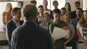 Imagen del último episodio de la serie 'Merlí' (TV-3).