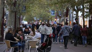 Sabadell facilitarà que les terrasses posin biombos i estufes per reimpulsar-les després de les restriccions