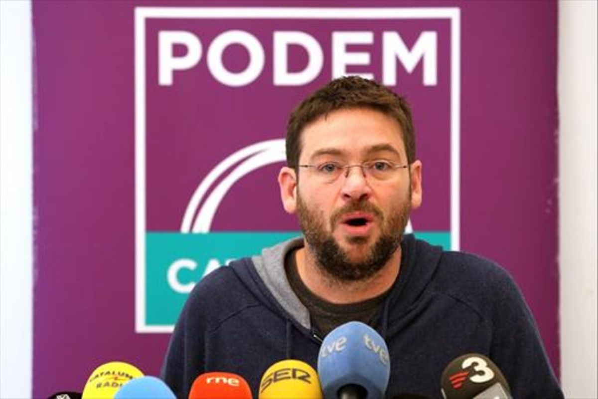 Albano Dante Fachin, secretario general de Podem.